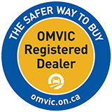 You're protected - OMVIC Registered Dealer